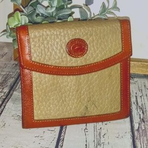 Vintage Dooney & Bourke Kisslock Wallet